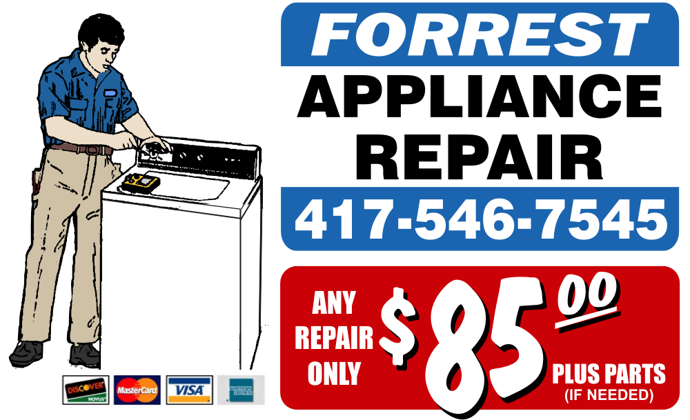 Contact us for your appliance repairs